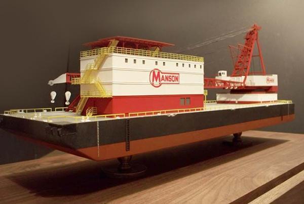 Mason Crane Barge