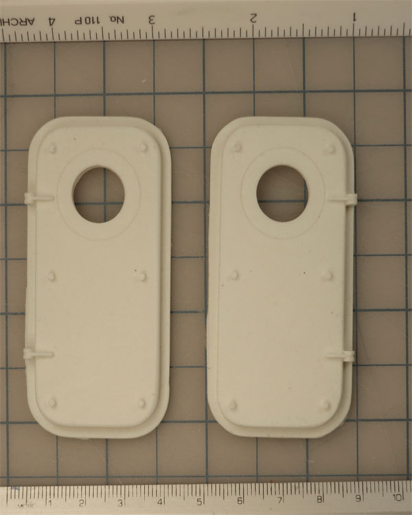 WTD24-04   WTD w/ Flush Porthole Frame Port
